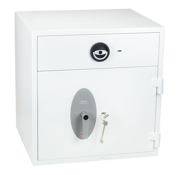 Phoenix Diamond Deposit HS1091KD Size 2 High Security Euro Grade 1 Deposit Safe with Key Lock - Buy Safes Online Co. UK