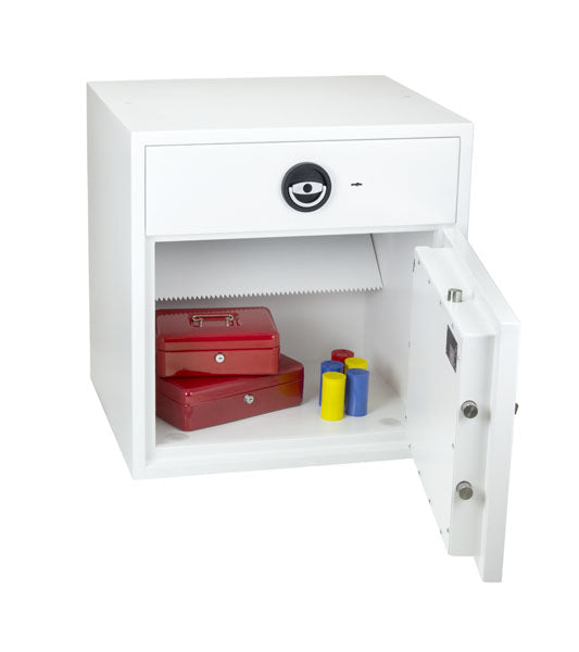 Phoenix Diamond Deposit HS1091ED Size 2 High Security Euro Grade 1 Deposit Safe with Electronic Lock - Buy Safes Online Co. UK