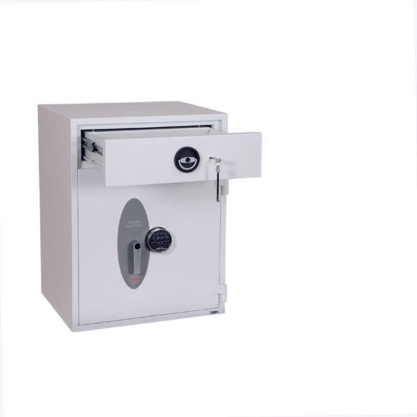 Phoenix Diamond Deposit HS1092ED Size 3 High Security Euro Grade 1 Deposit Safe with Electronic Lock - Buy Safes Online Co. UK