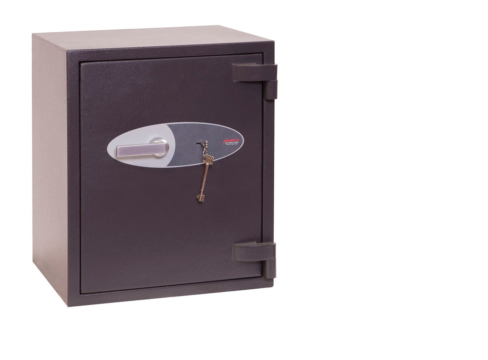 Phoenix Mercury HS2052K Size 2 High Security Euro Grade 2 Safe with Key Lock