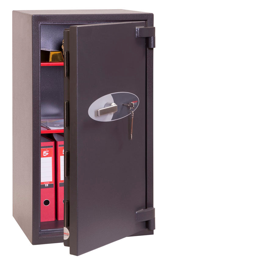 Phoenix Mercury HS2053K Size 3 High Security Euro Grade 2 Safe with Key Lock - Buy Safes Online Co. UK