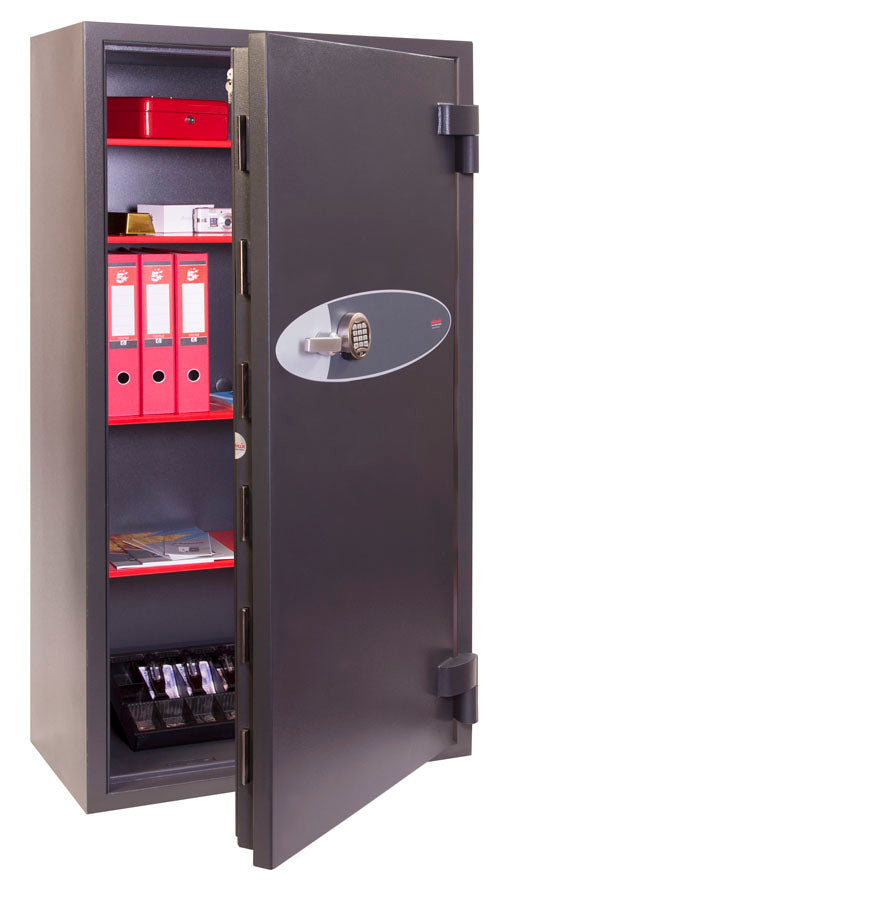 Phoenix Mercury HS2056E Size 6 High Security Euro Grade 2 Safe with Electronic Lock - Buy Safes Online Co. UK