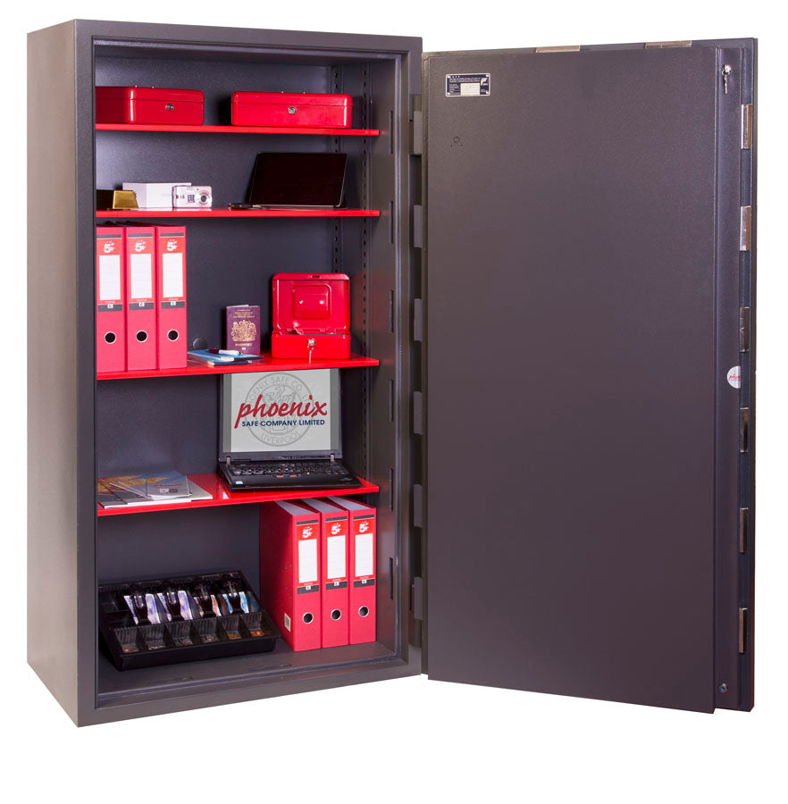 Phoenix Mercury HS2056K Size 6 High Security Euro Grade 2 Safe with Key Lock - Buy Safes Online Co. UK