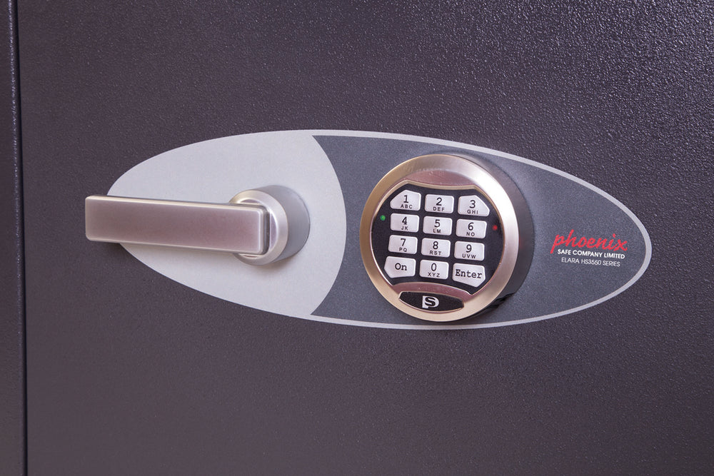 Phoenix Elara HS3554E Size 4 High Security Euro Grade 3 Safe with Electronic Lock - Buy Safes Online Co. UK