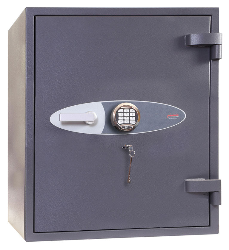 Phoenix Planet HS6072E Size 2 High Security Euro Grade 4 Safe with Electronic & Key Lock