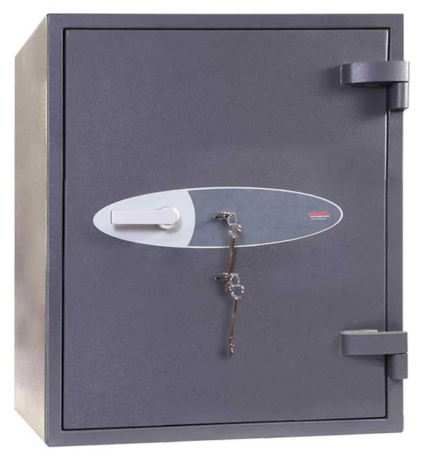 Phoenix Planet HS6072K Size 2 High Security Euro Grade 4 Safe with 2 Key Locks