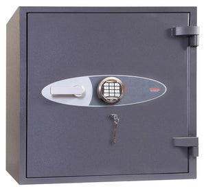 Phoenix Cosmos HS9071E Size 1 High Security Euro Grade 5 Safe with Electronic & Key Lock - Buy Safes Online Co. UK