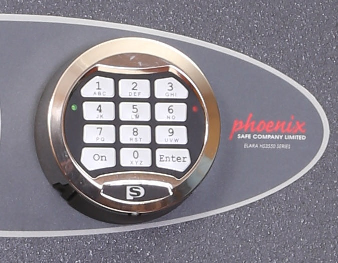 Phoenix Cosmos HS9074E Size 4 High Security Euro Grade 5 with Safe Electronic & Key Lock - Buy Safes Online Co. UK