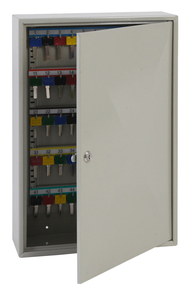 Phoenix Deep Key Cabinet KC0302K 100 Hook with Key Lock - Buy Safes Online Co. UK