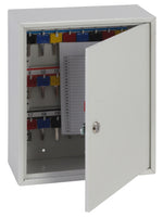 Phoenix Deep Plus & Padlock Key Cabinet KC0501K 24 Hook with Key Lock - Buy Safes Online Co. UK