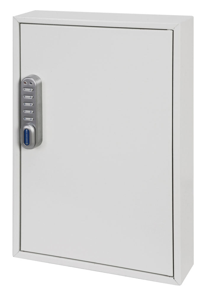 Phoenix Deep Plus & Padlock Key Cabinet KC0502E 50 Hook with Electronic Code Lock - Buy Safes Online Co. UK