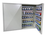 Phoenix Deep Plus & Padlock Key Cabinet KC0503E 50 Hook with Electronic Code Lock - Buy Safes Online Co. UK