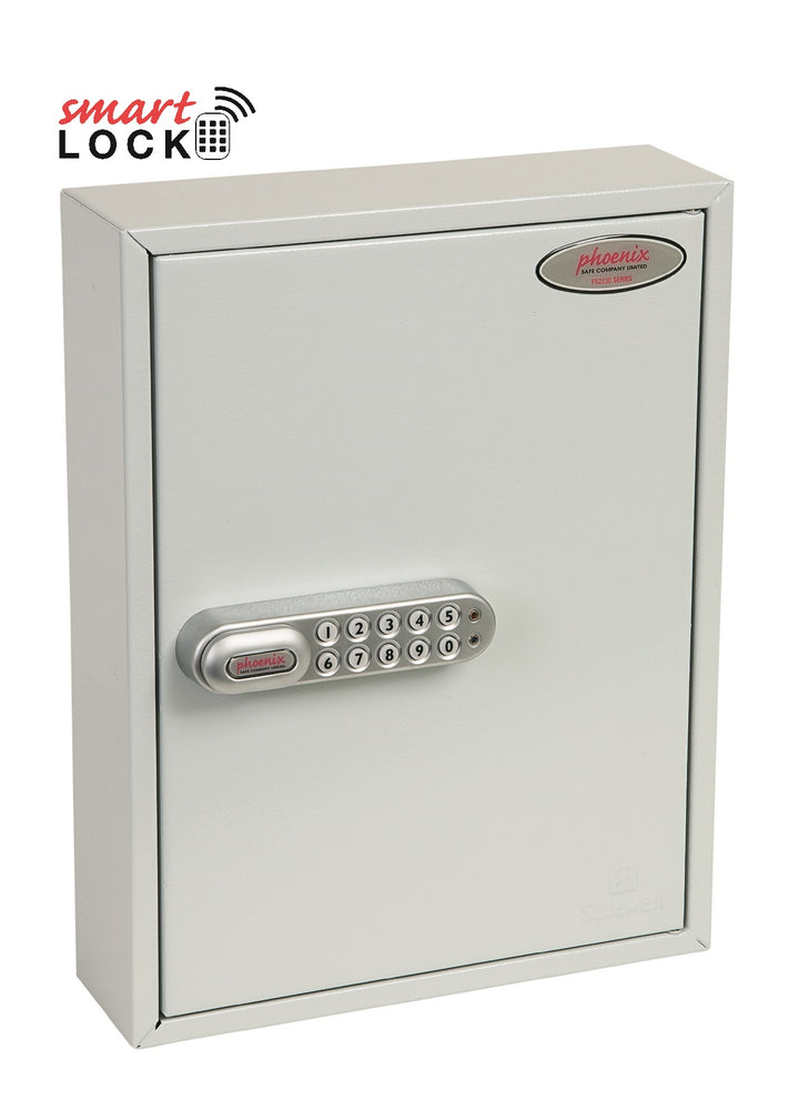 Phoenix Commercial Key Cabinet KC0601N 42 Hook with Net Code Electronic Lock. - Buy Safes Online Co. UK