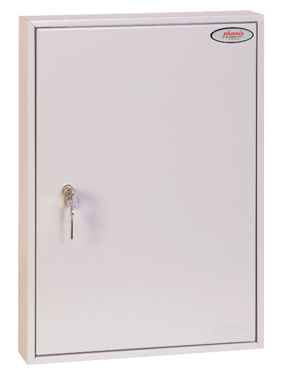 Phoenix Commercial Key Cabinet KC0603P 100 Hook with Key Lock. - Buy Safes Online Co. UK