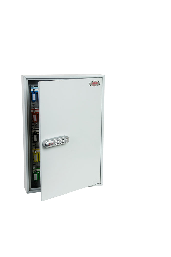 Phoenix Commercial Key Cabinet KC0603S 100 Hook with Electronic Lock & Push Shut Latch. - Buy Safes Online Co. UK