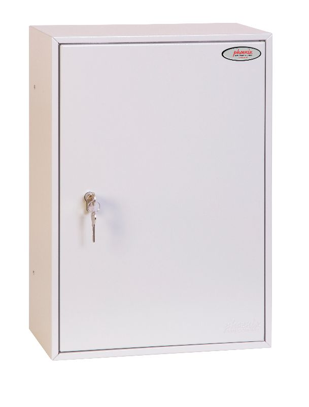 Phoenix Commercial Key Cabinet KC0604P 200 Hook with Key Lock. - Buy Safes Online Co. UK
