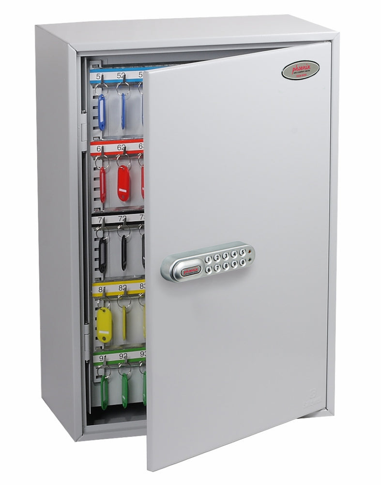 Phoenix Commercial Key Cabinet KC0605E 300 Hook with Electronic Lock. - Buy Safes Online Co. UK