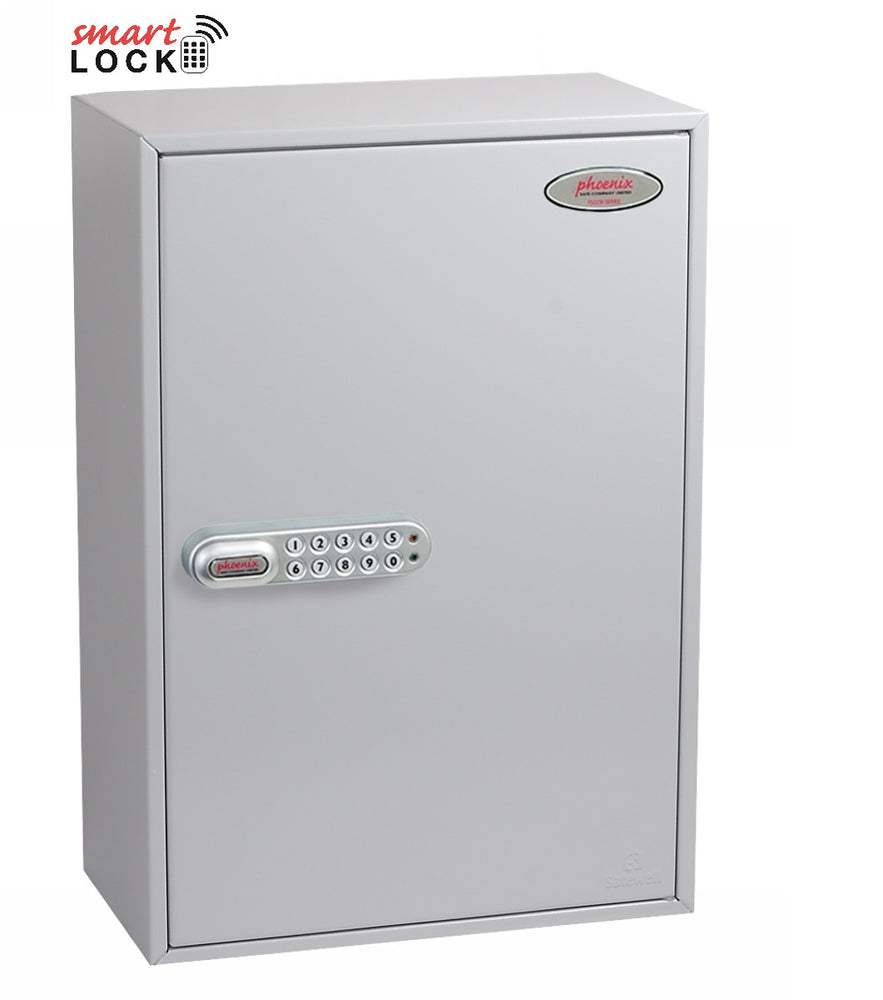 Phoenix Commercial Key Cabinet KC0605N 300 Hook with Net Code Electronic Lock. - Buy Safes Online Co. UK