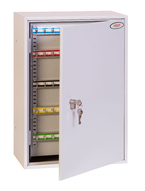 Phoenix Commercial Key Cabinet KC0605P 300 Hook with Key Lock. - Buy Safes Online Co. UK