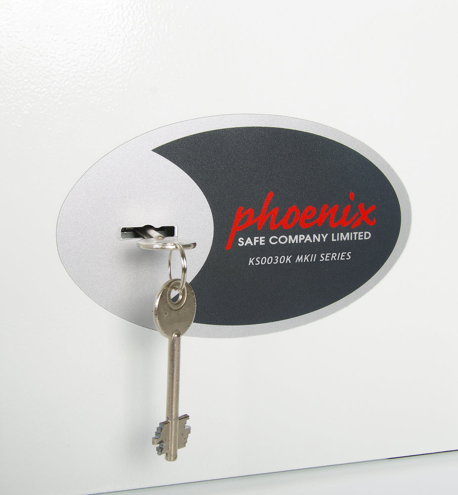 Phoenix Cygnus Key Deposit Safe KS0033K 144 Hook with Key Lock - Buy Safes Online Co. UK