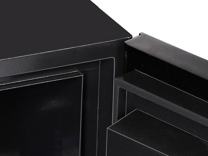 Phoenix Next LS7001FO Luxury Safe Size 1 (Oak) with Fingerprint Lock - Buy Safes Online Co. UK