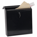 Phoenix Casa Top Loading Mail Box MB0111KB in Black with Key Lock