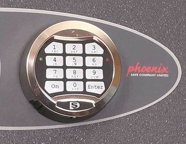 Phoenix Neptune HS1055E Size 5 High Security Euro Grade 1 Safe with Electronic Lock - Buy Safes Online Co. UK