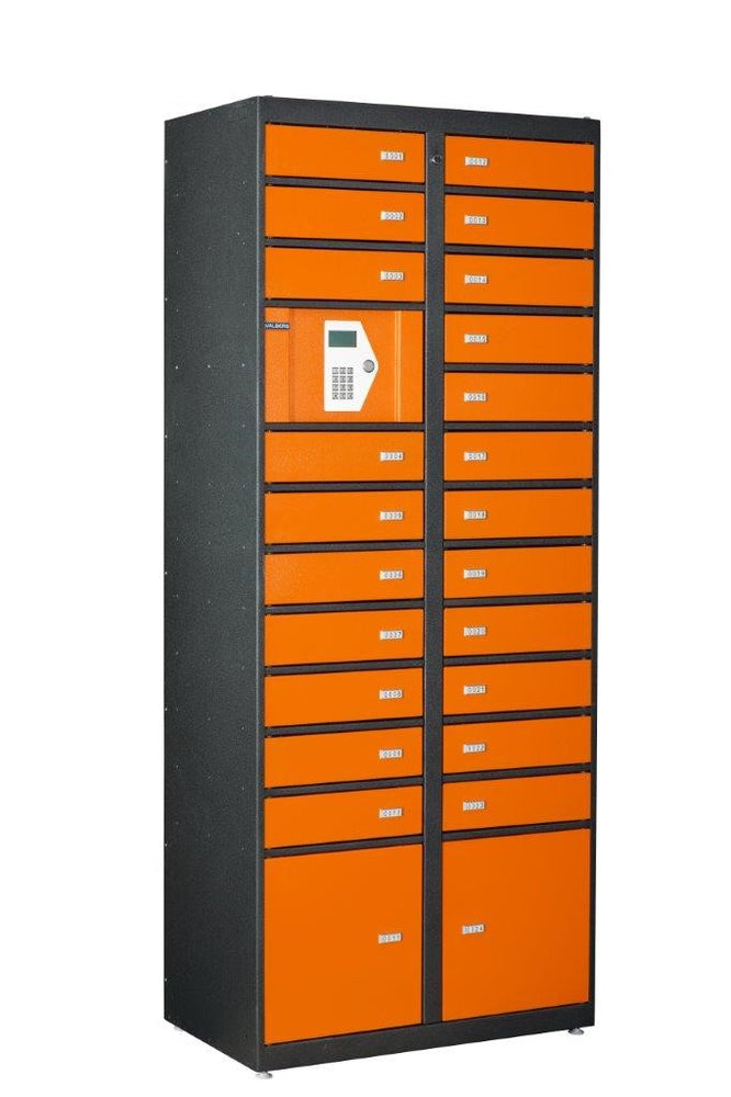 Phoenix Storage Locker SL0024E Master Unit with 24 Lockers & Electronic Control Panel - Buy Safes Online Co. UK