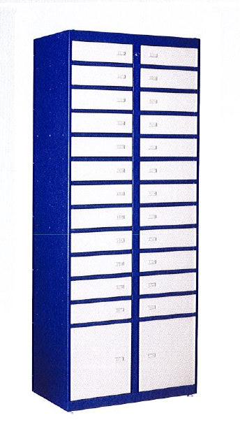 Phoenix Storage Locker SL0026 Accessory Unit to SL0024E with 26 Lockers - Buy Safes Online Co. UK