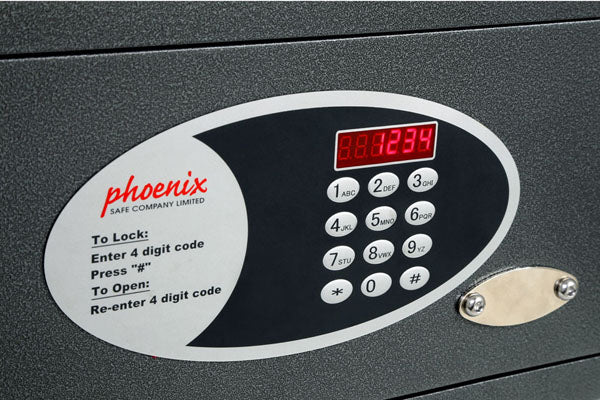Phoenix Dione SS0311E Hotel Security Safe with Electronic Lock - Buy Safes Online Co. UK