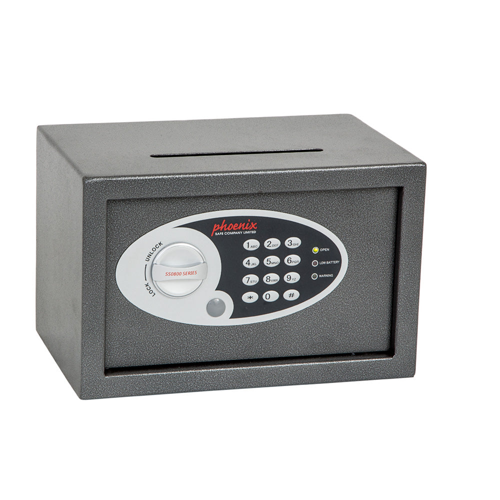 Phoenix Vela Home & Office SS0801E Size 1 Security Safe with Electronic Lock