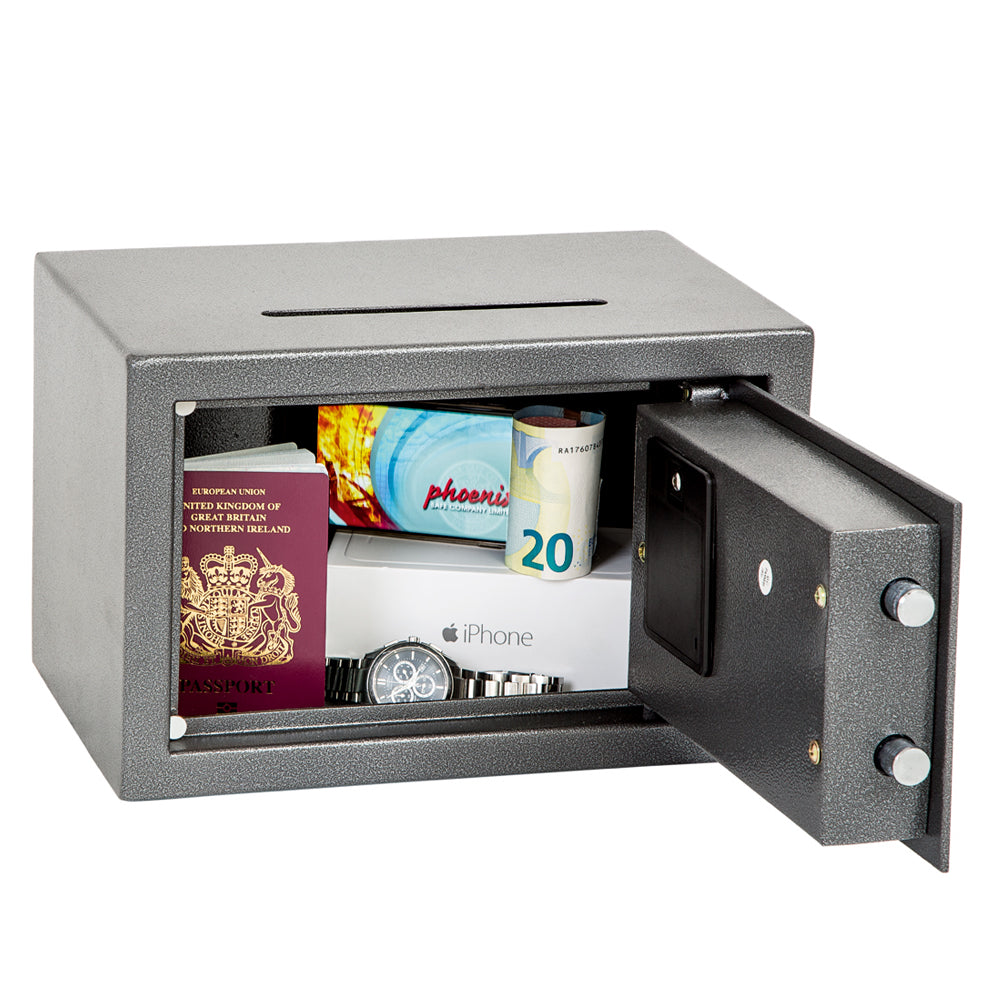 Phoenix Vela Home & Office SS0801E Size 1 Security Safe with Electronic Lock - Buy Safes Online Co. UK