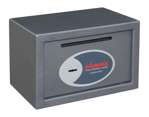Phoenix Vela Deposit Home & Office SS0801KD Size 1 Security Safe with Key Lock - Buy Safes Online Co. UK