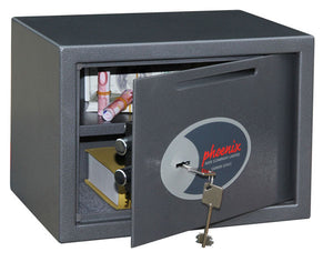 Phoenix Vela Deposit Home & Office SS0802KD Size 2 Security Safe with Key Lock - Buy Safes Online Co. UK