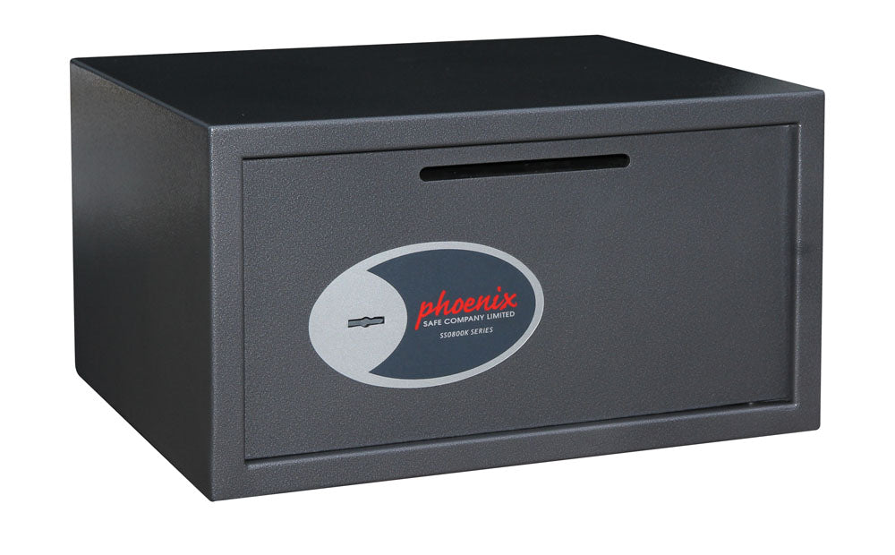 Phoenix Vela Deposit Home & Office SS0803KD Size 3 Security Safe with Key Lock - Buy Safes Online Co. UK