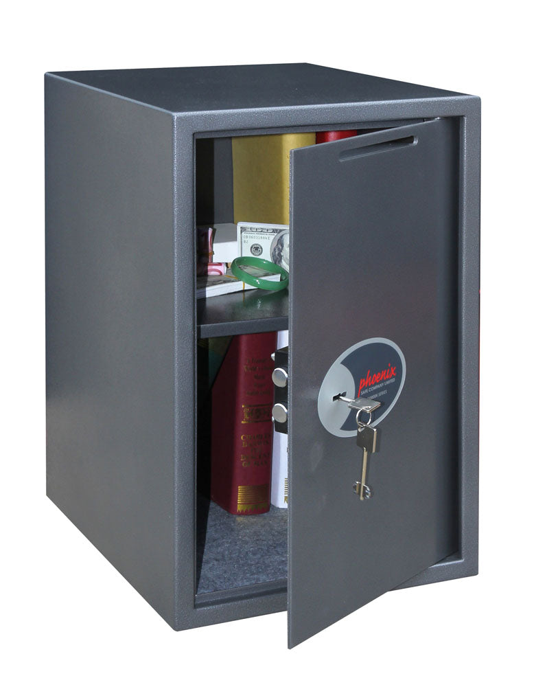 Phoenix Vela Deposit Home & Office SS0805KD Size 5 Security Safe with Key Lock - Buy Safes Online Co. UK