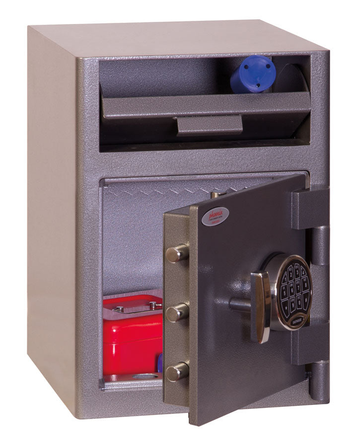 Phoenix Cash Deposit SS0996ED Size 1 Security Safe with Electronic Lock - Buy Safes Online Co. UK