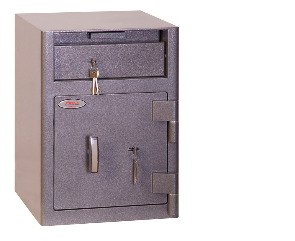 Phoenix Cash Deposit SS0996KD Size 1 Security Safe with Key Lock - Buy Safes Online Co. UK