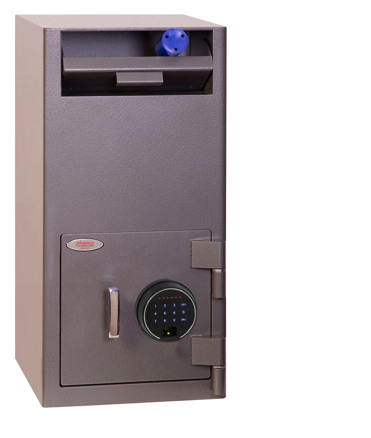 Phoenix Cash Deposit SS0997FD Size 2 Security Safe with Fingerprint Lock - Buy Safes Online Co. UK