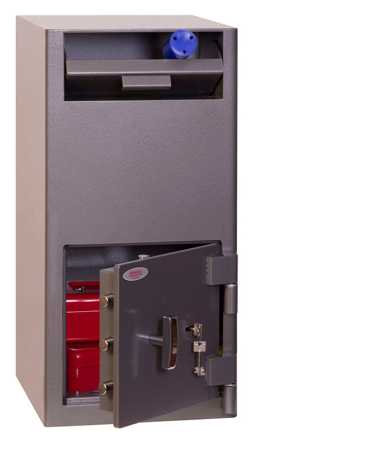 Phoenix Cash Deposit SS0997KD Size 2 Security Safe with Key Lock - Buy Safes Online Co. UK
