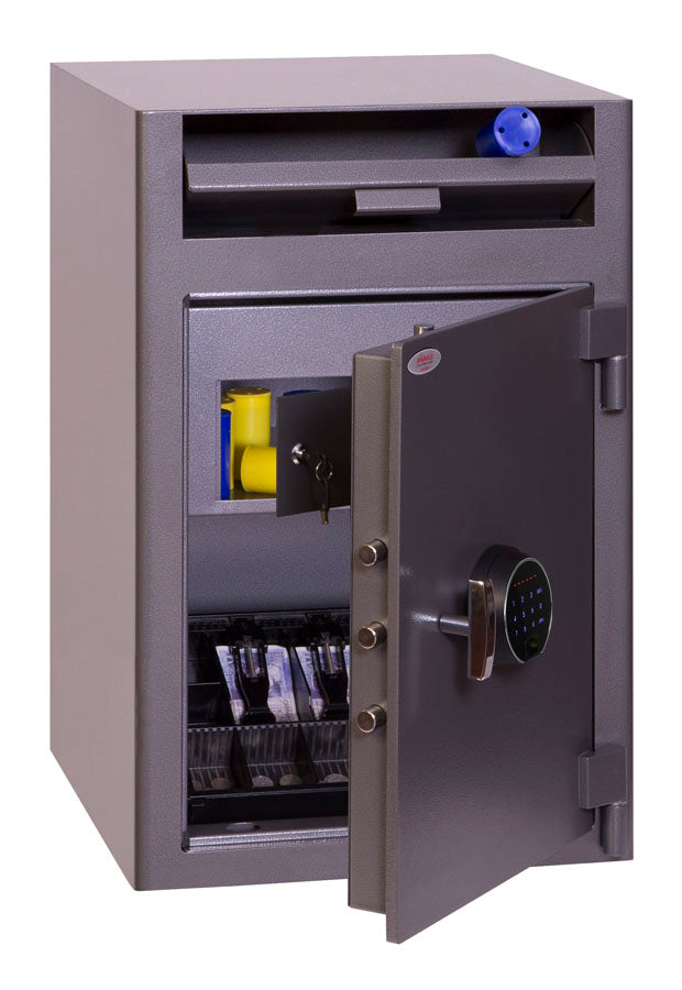 Phoenix Cash Deposit SS0998FD Size 3 Security Safe with Fingerprint Lock - Buy Safes Online Co. UK