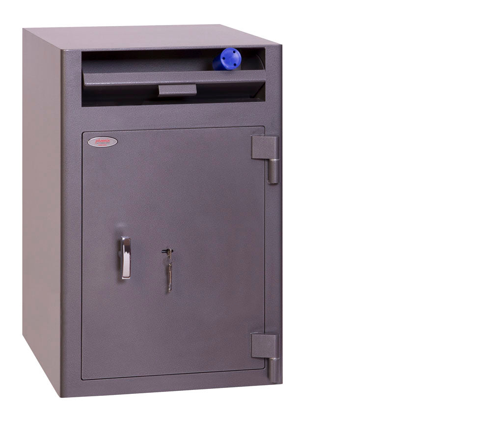Phoenix Cash Deposit SS0998KD Size 3 Security Safe with Key Lock - Buy Safes Online Co. UK