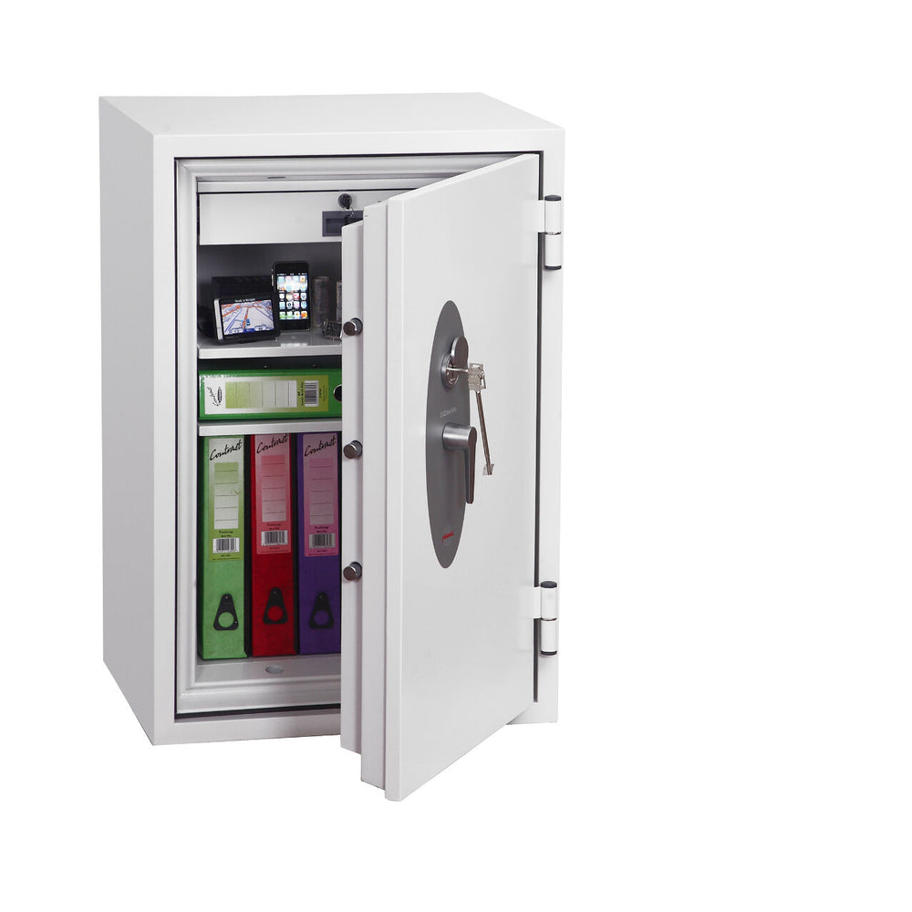 Phoenix Fire Fox SS1621K Size 1 Fire & S1 Security Safe with Key Lock - Buy Safes Online Co. UK