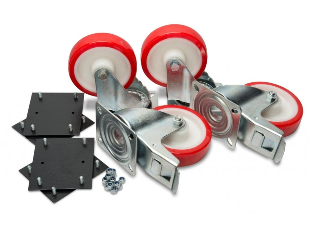 "6"" Extra Heavy-duty Castors to suit (factory fitted)"