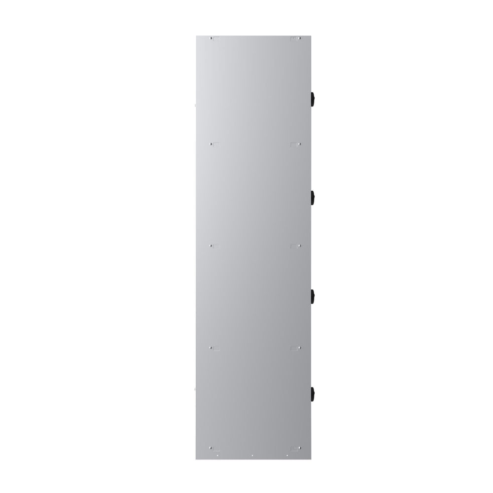 Phoenix PL Series PL2460GGC 2 Column 8 Door Personal Locker Combo in Grey with Combination Locks