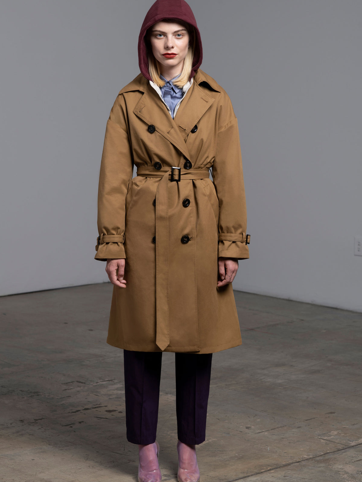 Trench Coat Camel