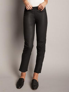 Nico Stretch Leather Ankle Pants