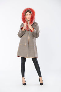 Assenzia Reversible Coat