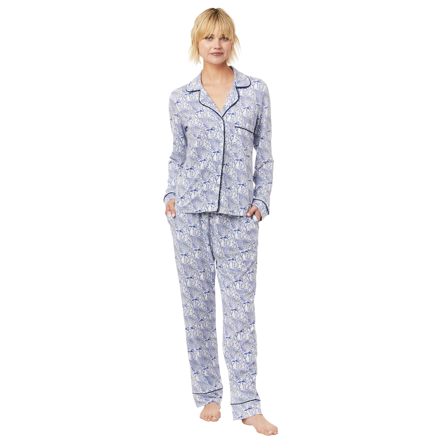 Pima Knit Pajama Set