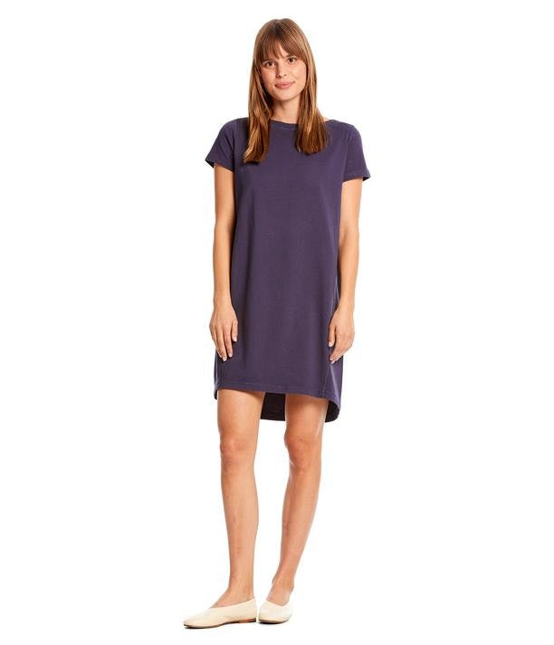 Hannah Boat Neck Tee Dress